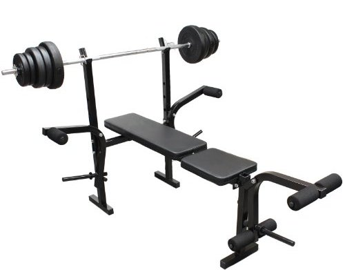 Weight Bench with Butterfly Extentions